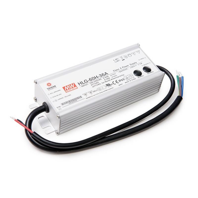 Transformador LED Meanwell 60W 230VAC/36V IP65 - Imagen 1