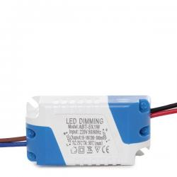 Driver Dimable Foco Downlight LEDs Ecoline 5W