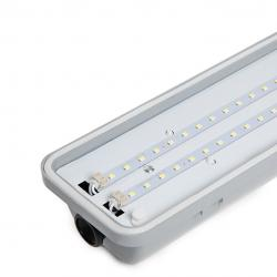 Luminaria Led Estanca IP65 1200mm 40W 4000Lm 30.000H