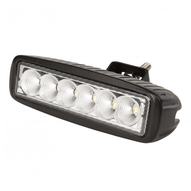 Barra LED para Automóviles Y Náutica 18W 9-33VDC IP68 - Imagen 1