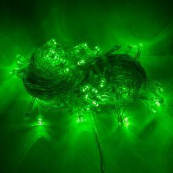 Guirnalda de Luces LED de 100 IP44 220V 10 Metros Verde