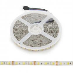 Tira LED 12VDC SMD5050 60LEDs 72W Cálido/Frío IP65 5M - Imagen 1