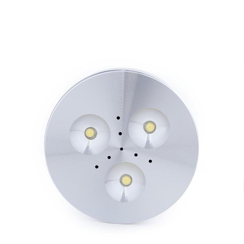 Mini Plafón LED Superficie Muebles 3W 270Lm 30.000H Cable 2M - Imagen 1