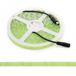 Tira LED Fluo 12VDC 60Xsmd5630 70W IP65 5M Verde