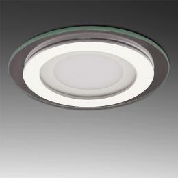 Foco Downlight  LED Circular con Cristal Ø95Mm 6W 450Lm 30.000H