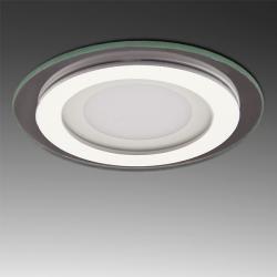 Foco Downlight  LED Circular con Cristal Ø95Mm 6W 450Lm 30.000H - Imagen 1