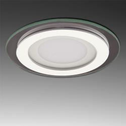Foco Downlight LED Circular con Cristal Ø95Mm 6W 450Lm 30.000H - Imagen 1