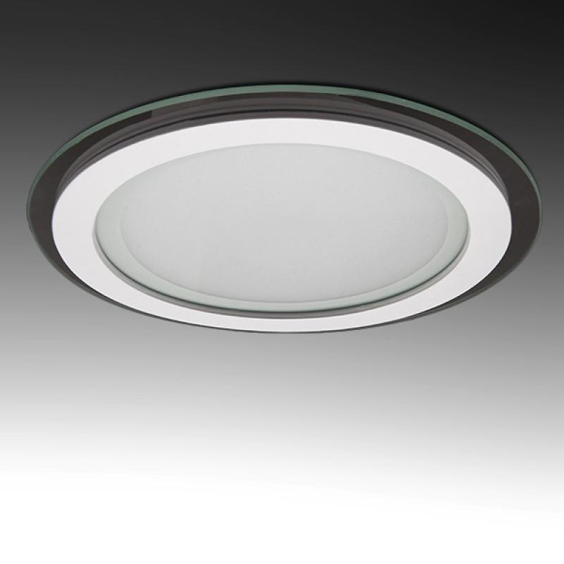 Foco Downlight LED Circular LED con Cristal Ø200Mm 18W 1500Lm 30.000H - Imagen 1