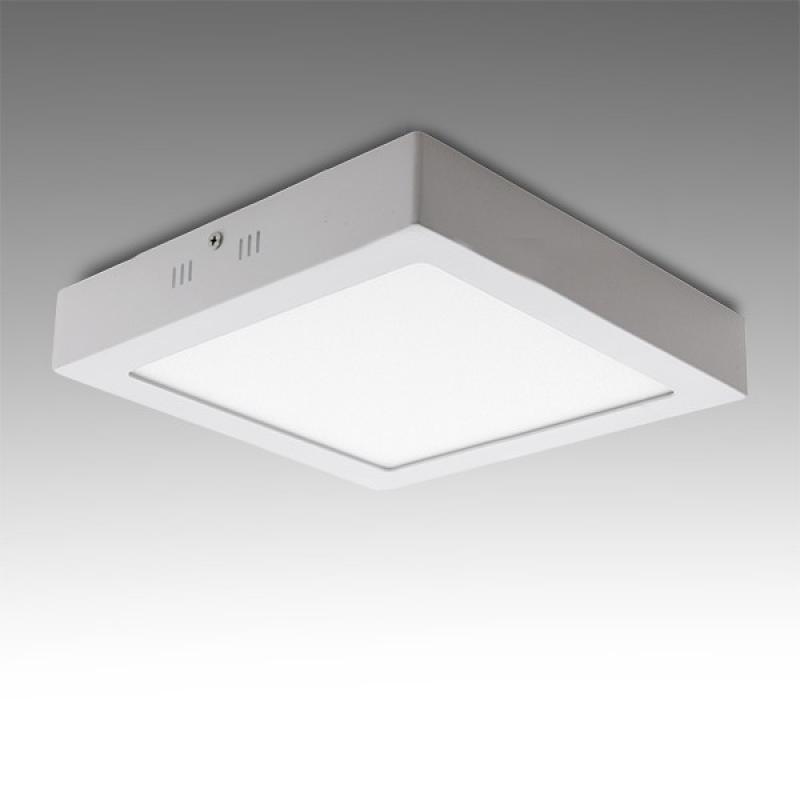 Plafón LED Cuadrado Superficie 174Mm 12W 800Lm 30.000H - Imagen 1