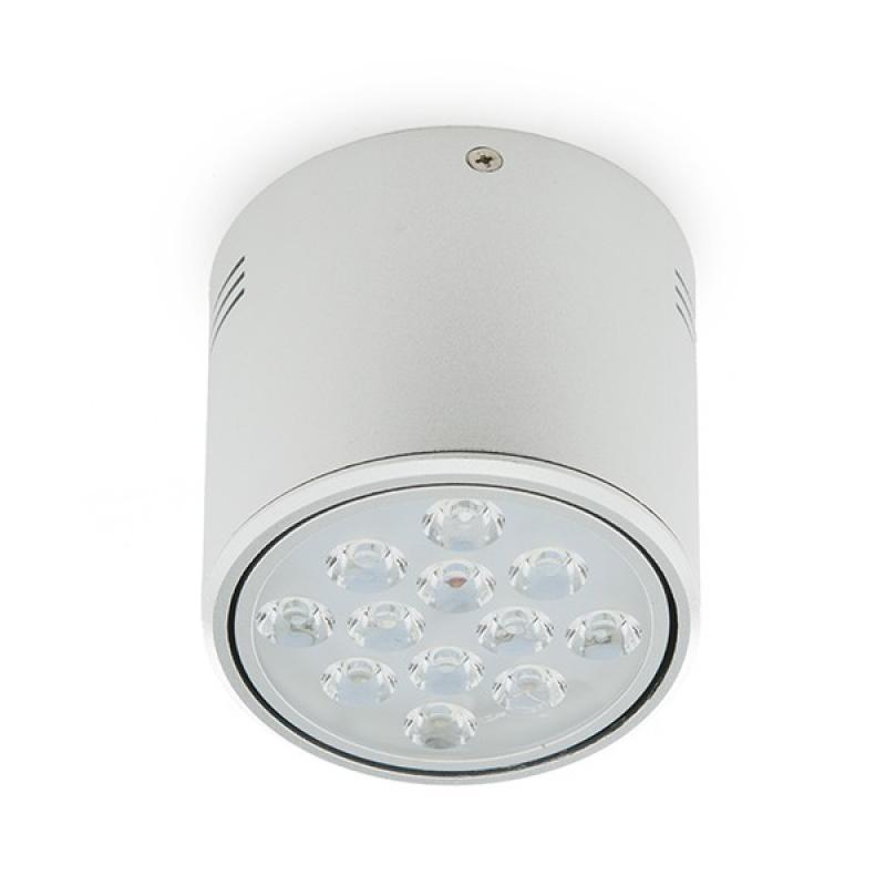 Foco Downlight LED de Superficie Aluminio 12W 1200Lm 30.000H - Imagen 1