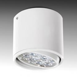Foco Downlight LED de Superficie Blanco 12W 1200Lm 30.000H - Imagen 1