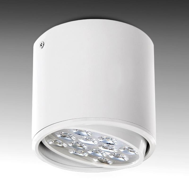 Foco Downlight LED de Superficie Blanco 12W 1200Lm 30.000H - Imagen 1