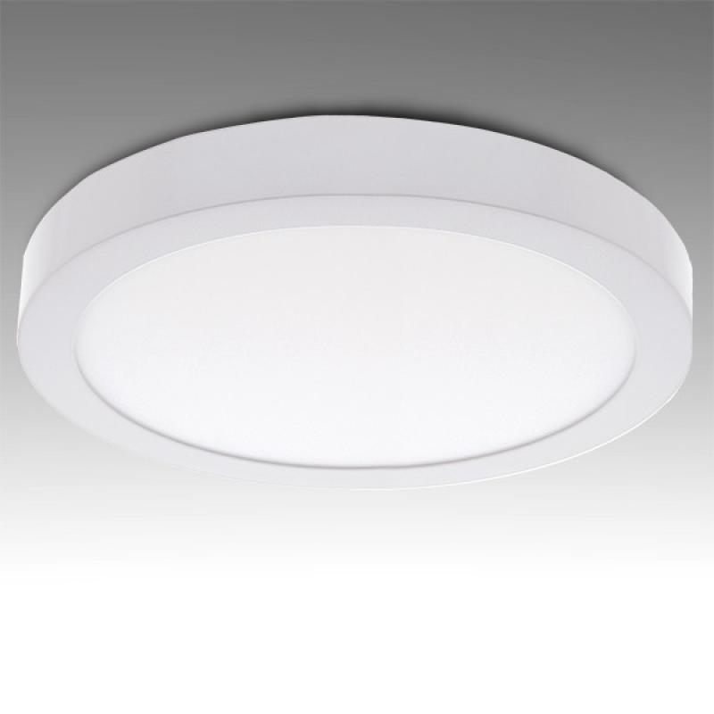 Plafón LED Circular Superficie Ø295Mm 24W 1900Lm 30.000H - Imagen 1
