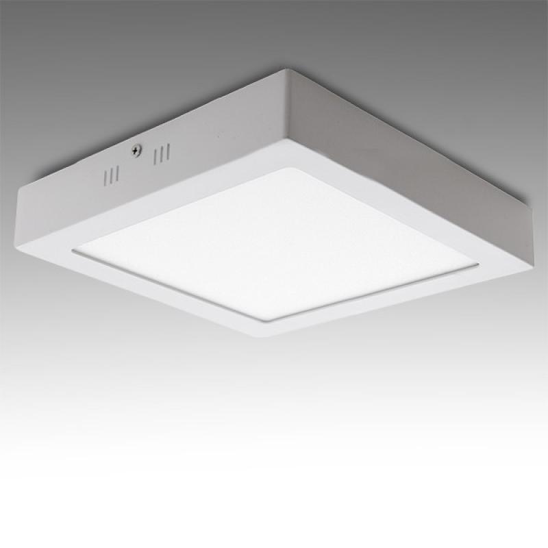 Plafón LED Cuadrado Superficie 300Mm 24W 1900Lm 30.000H - Imagen 1
