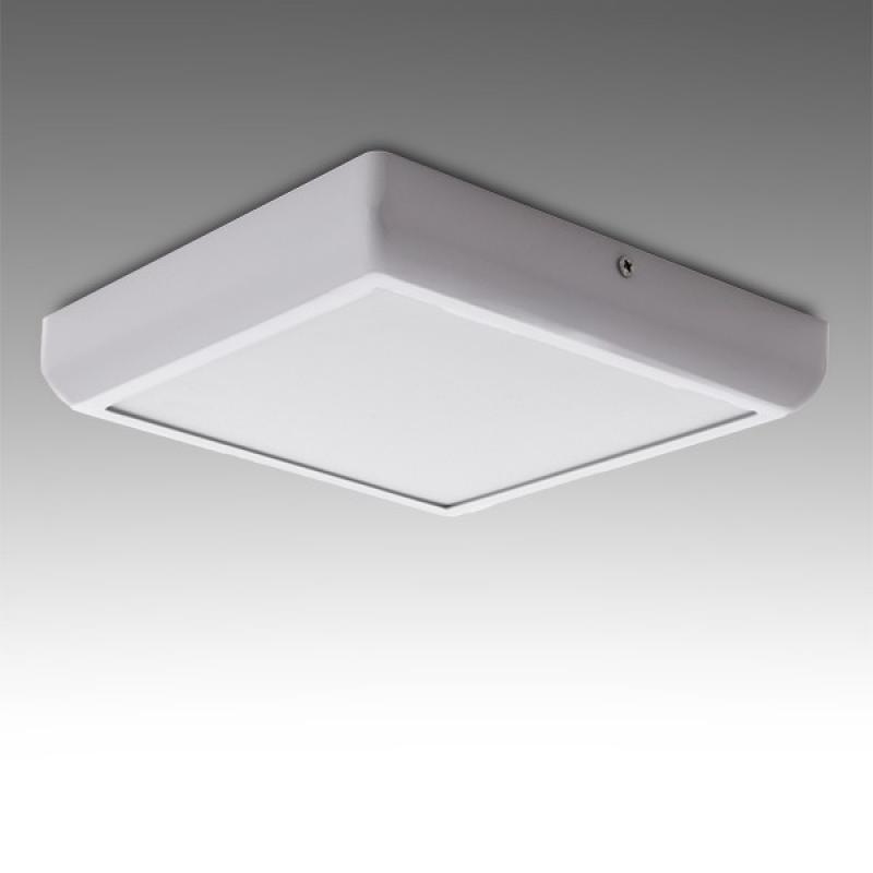 Plafón LED Cuadrado Superficie Style 174Mm 12W 960Lm 30.000H - Imagen 1
