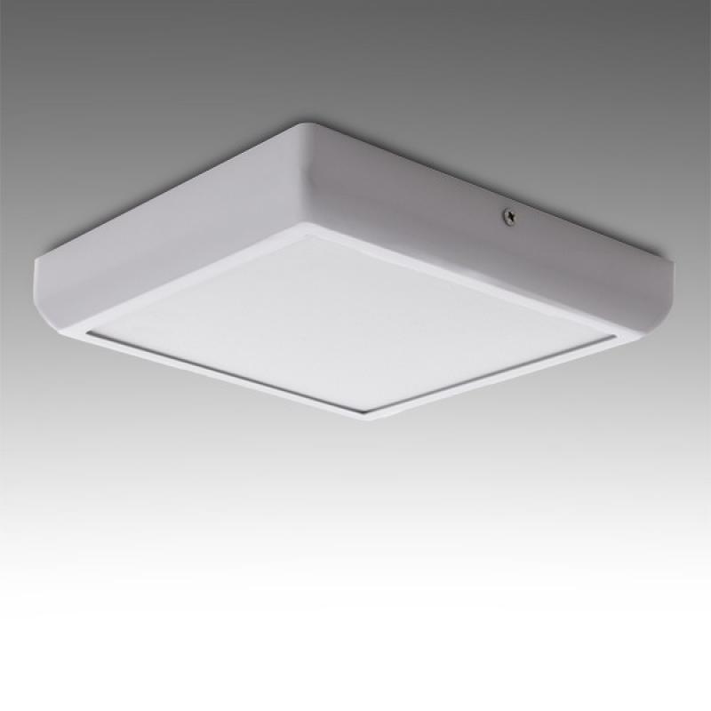 Plafón LED Cuadrado Superficie Style 225Mm 18W 1440Lm 30.000H - Imagen 1