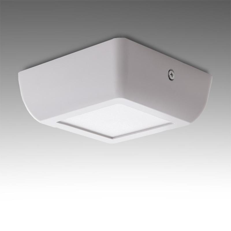 Plafón LED Cuadrado Superficie Style 120Mm 6W 470Lm 30.000H - Imagen 1