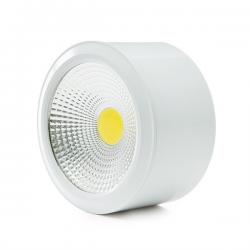 Foco Downlight de Superfice LED COB IP54 7W 560Lm 30.000H