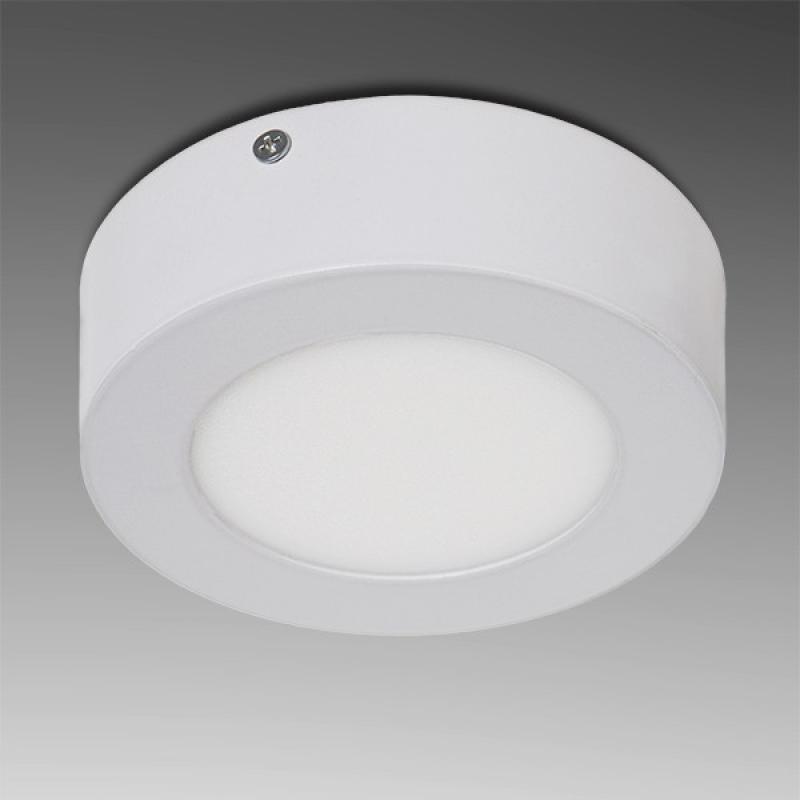 Plafón LED Circular Superficie Ø120Mm 12VDC 6W 470Lm 30.000H - Imagen 1