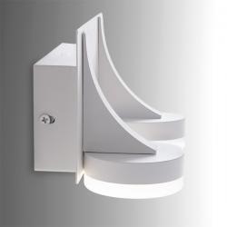 Aplique de Pared LED 2X5W 1000Lm Blanco Ava - Imagen 1