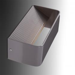 Aplique de Pared LED 7W 700Lm Grís Camila - Imagen 1
