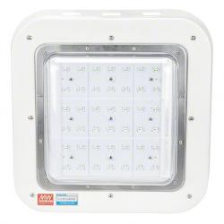 Luminaria LED Especial Gasolineras Philips/Meanwell IP65 Ik08 100W 9500Lm 100.000H