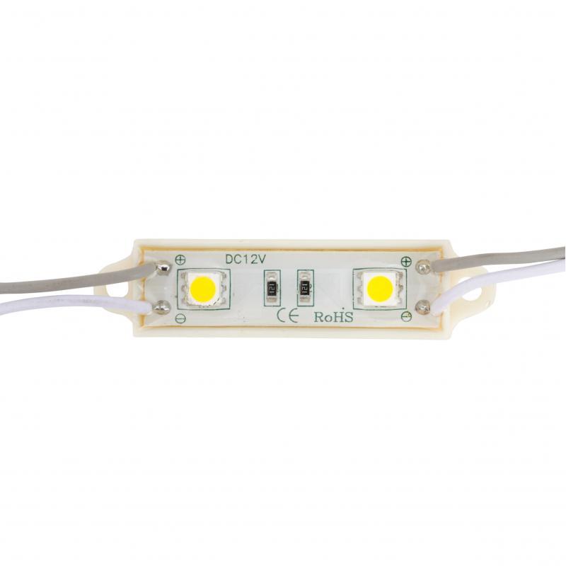 Módulo 2 LEDs SMD5050 0,48W - Imagen 1