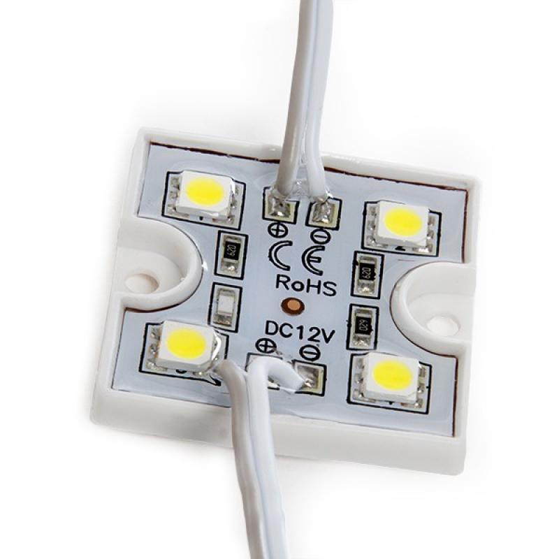 Módulo 4 LEDs SMD3528 0,6W - Imagen 1