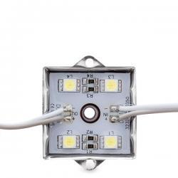 Módulo 4 LEDs Aluminio SMD5050 1,44W