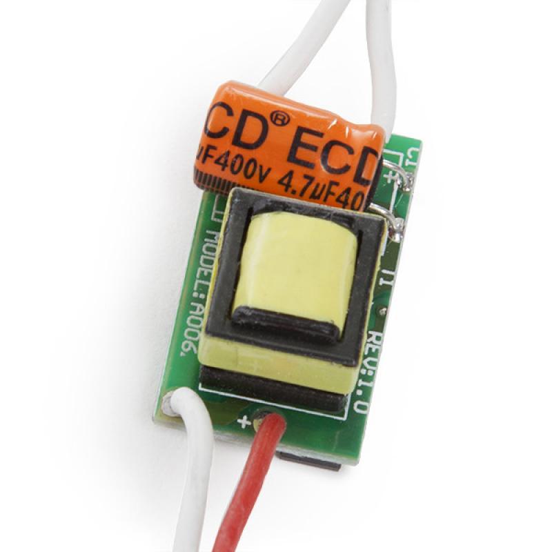 Driver LED Integrar 2-3W 3,3-10,5V 280-300Ma - Imagen 1