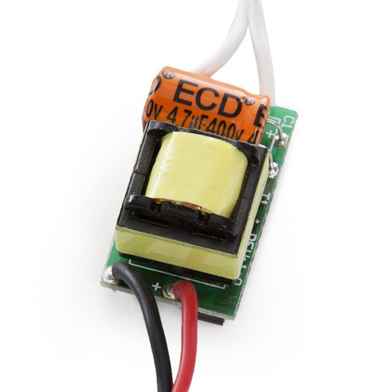 Driver LED Integrar 4-5W 12-16V 280-300Ma - Imagen 1