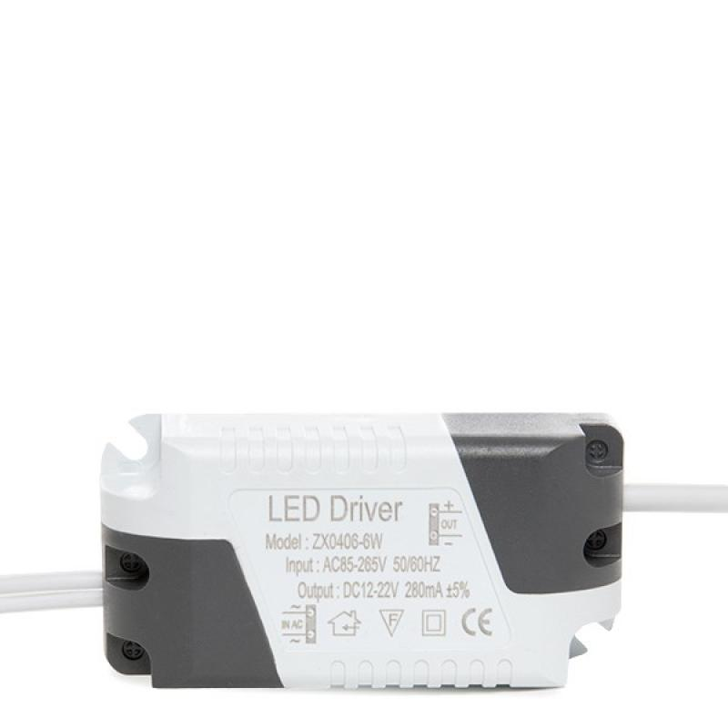 Driver No Dimable Foco Downlight LED 6W - Imagen 1