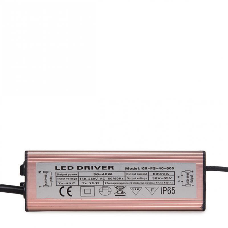 Driver No Dimable Panel LED 36W - Imagen 1