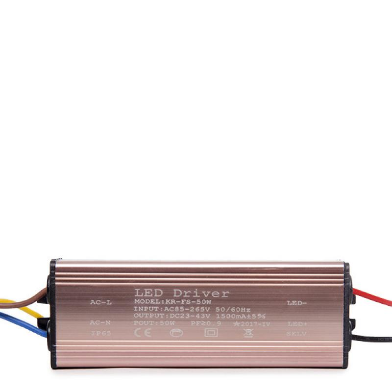 Driver No Dimable Foco Proyector LED 50W - Imagen 1