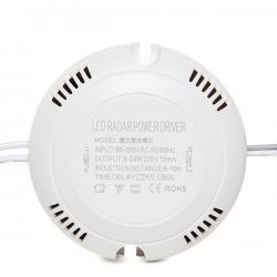 Driver LED 8-18W Detector de Proximidad Microondas