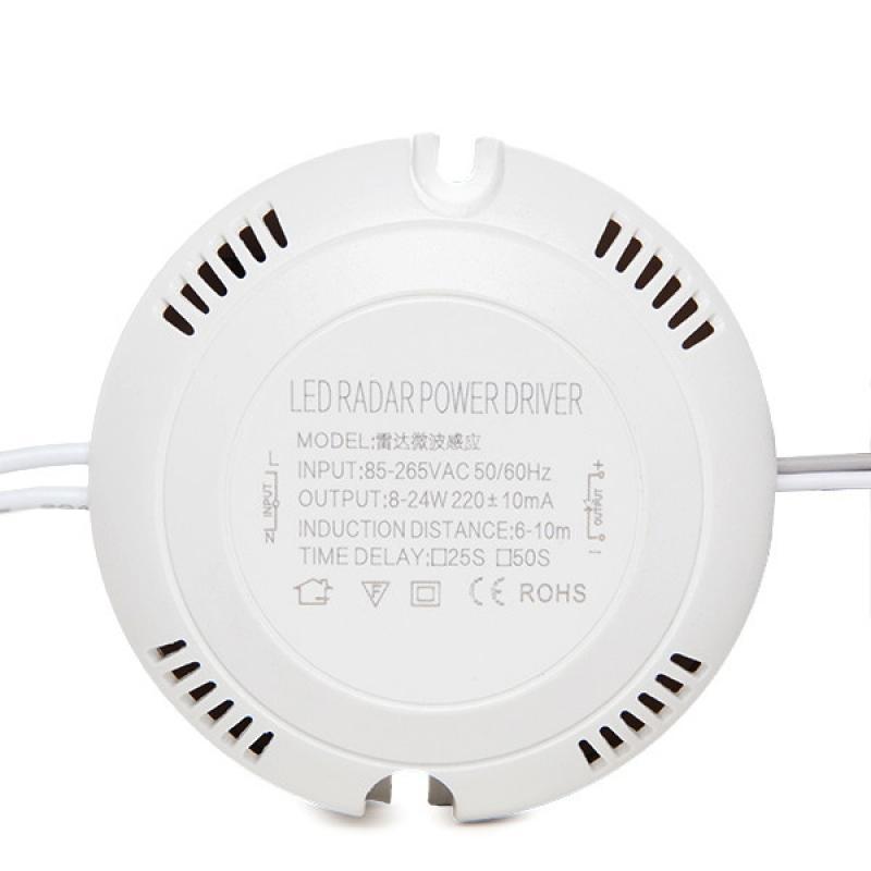 Driver LED 8-18W Detector de Proximidad Microondas - Imagen 1