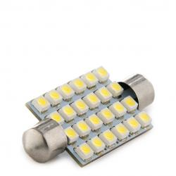 Bombilla Led Festoon Canbus 24 X SMD3528 42Mm