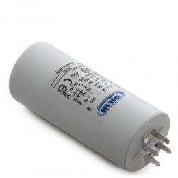 Condensador Motor 35µF 250-450V Faston Doble Tornillo M8 45x94mm - Imagen 2