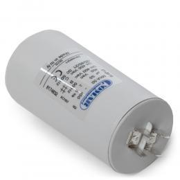 Condensador Motor 50µF 250-450V Faston Doble Tornillo M8 50x94mm - Imagen 2
