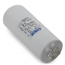 Condensador Motor 60µF 250-450V Faston Doble Tornillo M8 50x120mm - Imagen 2