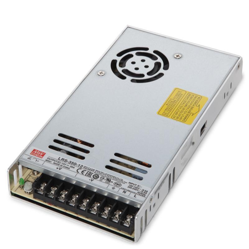 Transformador LED Meanwell 350W 230VAC/12VDC IP20 - Imagen 1