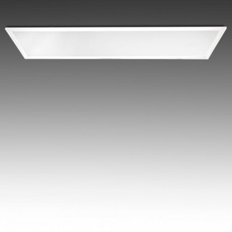 Panel LED 1200X300mm 40W Marco Blanco - Imagen 1