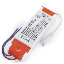 Driver LED 22W 25-42VDC 650mA Regulable 0/1-10V Downlight 22W-Kimera - Imagen 1