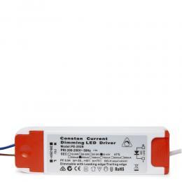 Driver LED 22W 25-42VDC 650mA Regulable 0/1-10V Downlight 22W-Kimera - Imagen 2