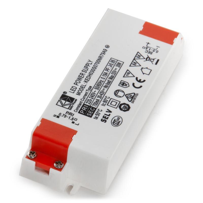 Driver LED 45W 30-42VDC 1080mA Foco Carril 45W-Kimera - Imagen 1