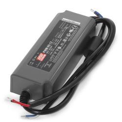 Transformador LED Meanwell 90W 230VAC/12VDC regulación 0-10V IP67 - Imagen 1