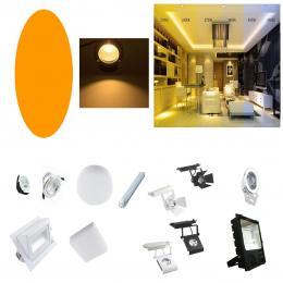 Filtro Naranja para Luminaria LED - Imagen 2