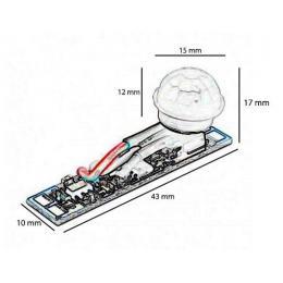 Sensor de movimiento para perfiles LED de 12 y 24 voltios - Imagen 2