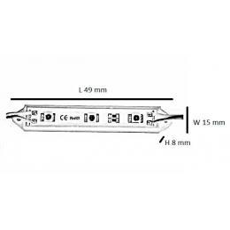 Módulos LED DC 12V  8000-10000K IP65 - Imagen 2