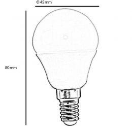Bombilla LED 5W  270° E14 - Imagen 2